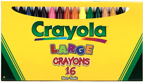 Crayola Large Crayons 16 Count