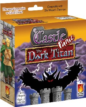 Castle Panic The Dark Titan Expansion Game