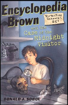 Encyclopedia Brown and the Case of the Midnight Visitor (#13)