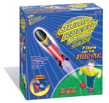 Jump Rocket Deluxe Set (Launcher & 6 Rockets)