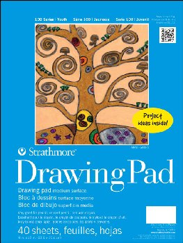 "Strathmore Youth Drawing Pad - 9"" x 12"" (40 Sheets)"