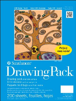 "Strathmore Youth Drawing Pack - 9"" x 12"" (200 Sheets)"