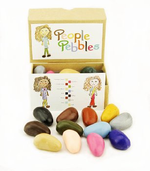People Pebbles - 12 Colors