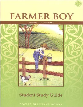 Farmer Boy Literature Student Study Guide