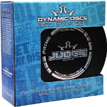 Dynamic Disc Golf Starter Set with Cadet Bag