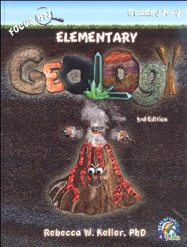 Focus On Elementary Geology Student Textbook - 3rd Edition (hardcover)