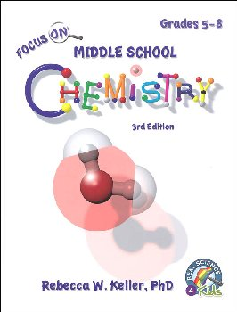 Focus On Middle School Chemistry Student Textbook - 3rd Edition (hardcover)