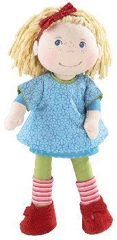 "Annie - 13.75"" Cloth Doll (Lilli and Friends)"