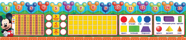 Math Practice Tools: Mickey Mouse Clubhouse