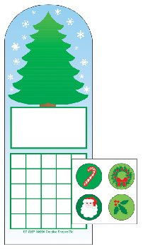 Fir Tree Personal Incentive Charts and Stickers