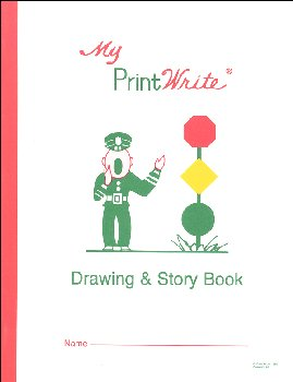 "My PrintWrite Drawing and Story Book Ruled 8 1/2"" x 11"""