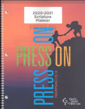 Student Scripture Planner ESV Large Secondary August 2019 - July 2020