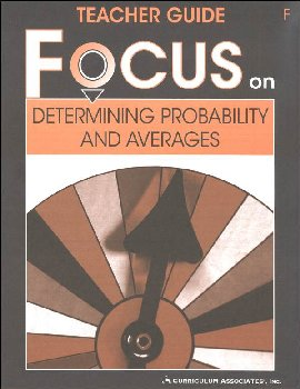 Determining Probability and Averages Teacher Guide F