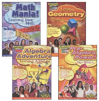 Mighty Math Pack (4-Pack) DVD