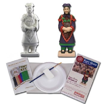 Qin Dynasty - Terra Cotta Warrior (Hands on History Pottery Kit)