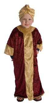 Nativity Costume - Wise Man Maroon