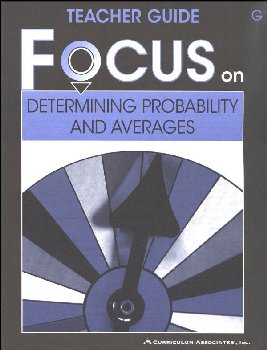 Determining Probability and Averages Teacher Guide G