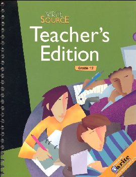 Write Source (2009) Teacher Ed Grade 12