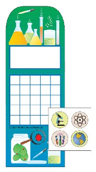 Science Lab Personal Incentive Charts and Stickers