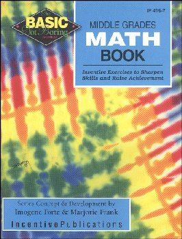 Basic/Not Boring Middle Schl Math Book
