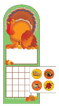 Turkey Personal Incentive Charts and Stickers