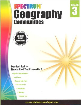 Spectrum Geography 2014 Grade 3 - Communities