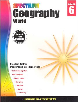 Spectrum Geography 2014 Grade 6 - World
