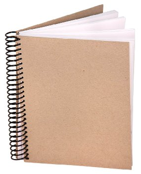 "Eco Sketch Journal (8 1/2"" x 11"") 100 sheets"