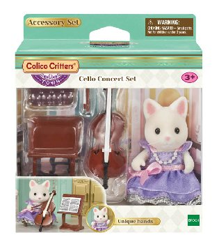 Cello Concert Set (Calico Critters)