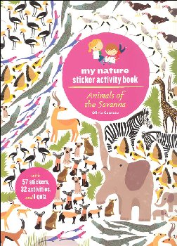 My Nature Sticker Activity Book: Animals of the Savanna
