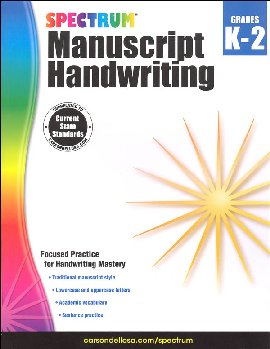 Spectrum Handwriting: Manuscript