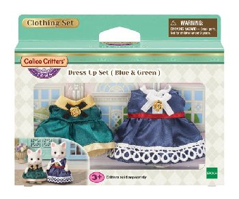Dress Up Set-Blue & Green (Calico Critters)