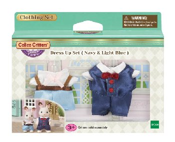 Dress Up Set - Navy & Light Blue (Calico Critters)