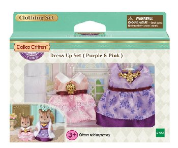Dress Up Set - Purple & Pink (Calico Critters)
