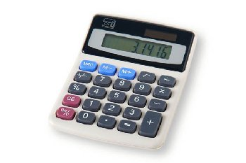 Desktop Calculator - 8 Digit Display