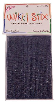 Dark Blue Wikki Stix - pkg of 36