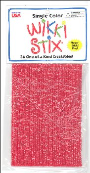 Red Wikki Stix - pkg of 36