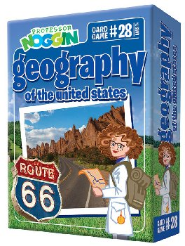 Prof Noggin's Geography of the U.S.Card Game