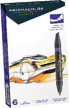 Prismacolor Double-Ended Marker Set 6-color