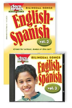 Bilingual Songs Vol 3 English-Spanish Book/CD