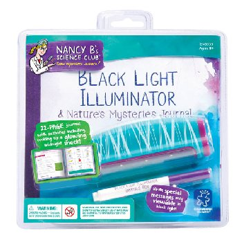 Black Light Illuminator & Nature's Mysteries Journal (Nancy B's Science Club)