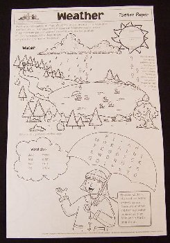Weather Poster Paper