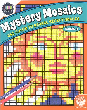Color By Number Mystery Mosaics: Book 1
