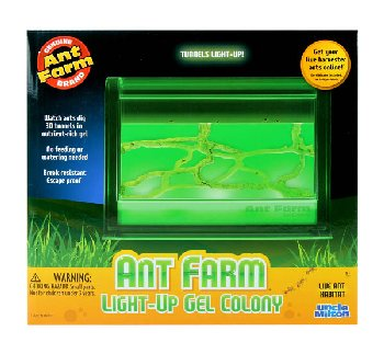 Ant Farm Light-Up Gel Colony