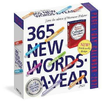 365 New Words-A-Year Page-A-Day 2020 Calendar