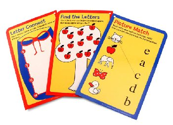 ABC Lower Case Card Set