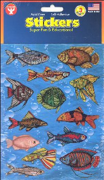 Fish Stickers (3 Sheets)