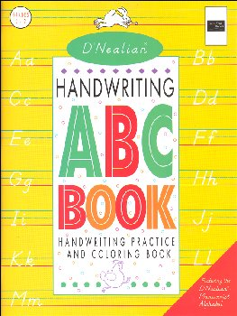 D'Nealian Handwriting ABC Book
