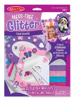 Foam Frames Mess Free Glitter Kit