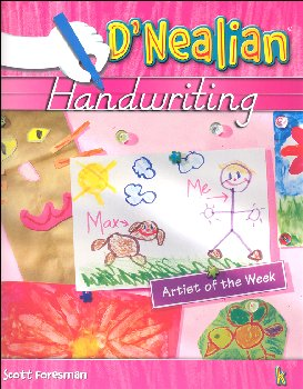 D'Nealian Handwriting Student Edition Kindergarten